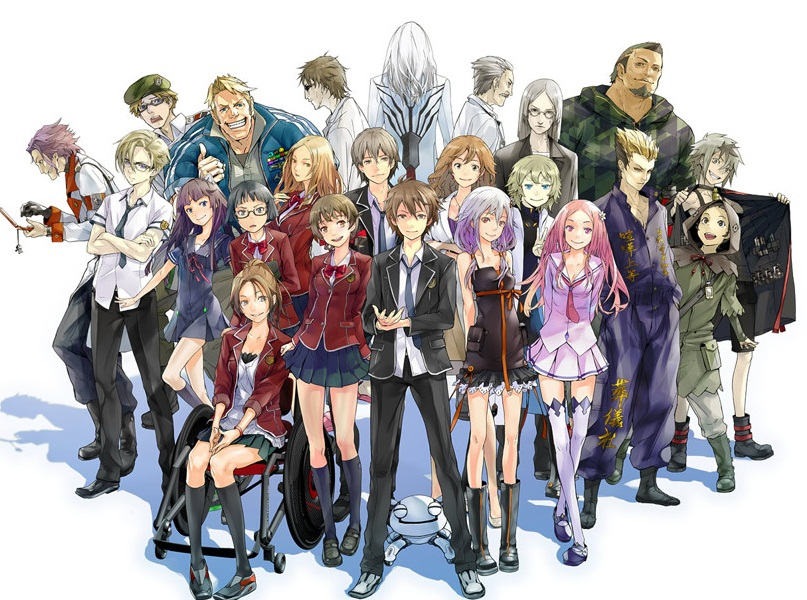 A List Of Anime Characters : List of guilty crown characters