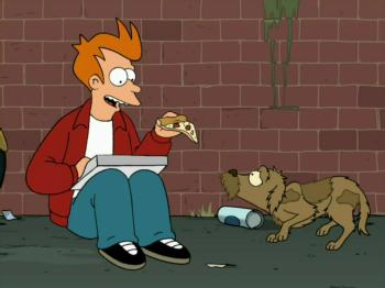 Western Animation: Futurama and Jurassic Bark