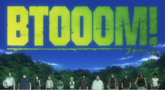 Btooom Anime Characters
