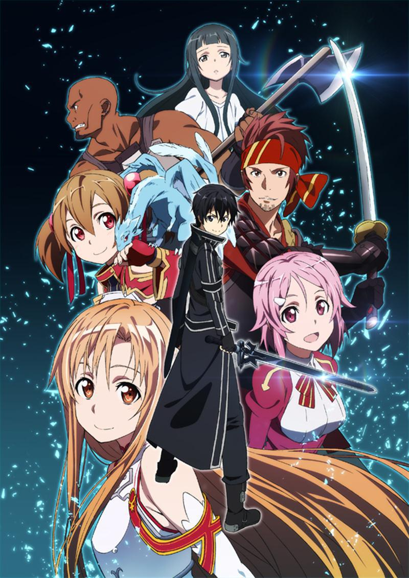 Anime Characters Using Sword : Sao anime tree
