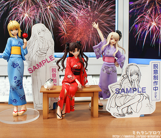 I'm looking foward to just Saber Alter in the corner there