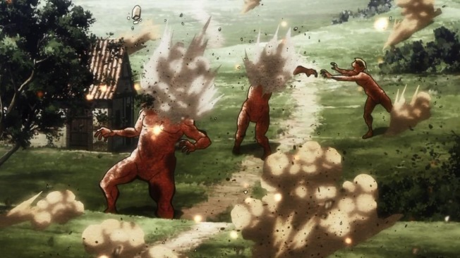 Shingeki no Kyojin Battlements