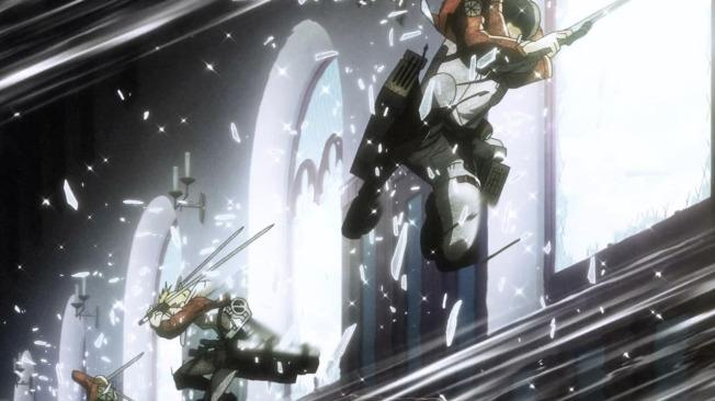 Shingeki no Kyojin Crashing Through
