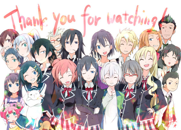 Oregairu Thanks