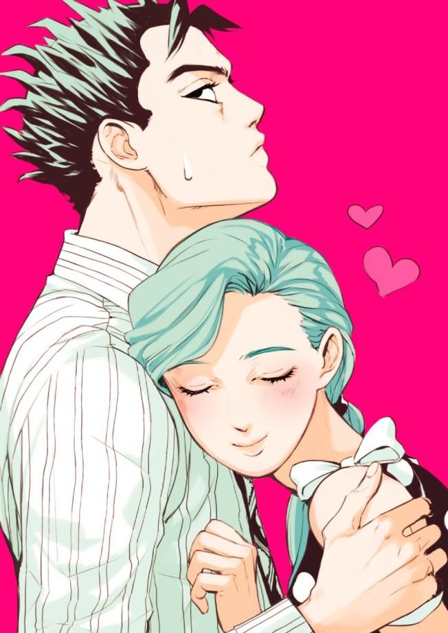 Yoshikage and Shinbou