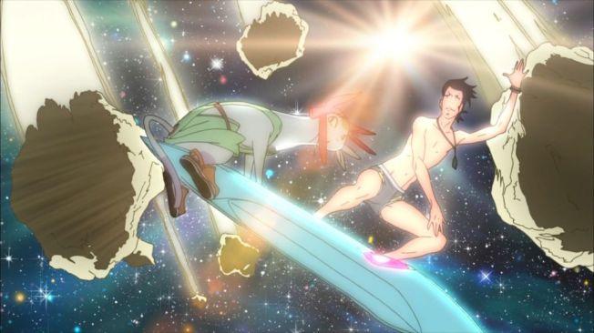 Space Dandy- Space Surf