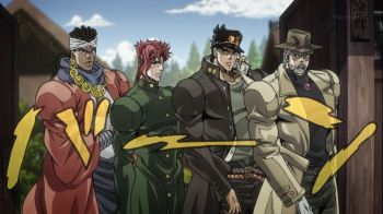 Jojo's Bizarre Adventure Part 3: Stardust Crusaders Episode 3- LET'S GO!