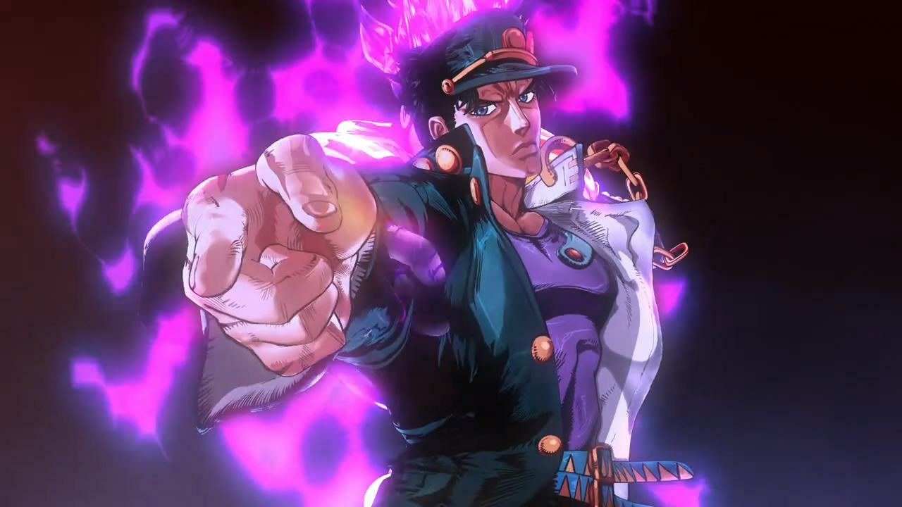 stardust crusaders comments stand