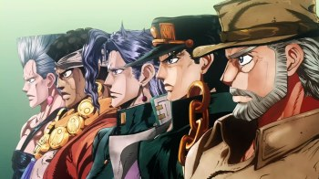 Jojo's Bizarre Adventure Part 3: Stardust Crusaders Episode 2- EMERALD SPLASH