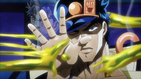 JJBA Stardust Crusaders- Yellow Temperance