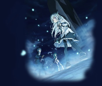 Hitsugi no Chaika Review- Slayers mixed with Steel Ball Run and the game Overlord.