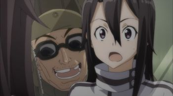 "Sword Art Online II Episode 4- First 5 minutes, does 2 ""impossible"" things"