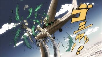 Jojo's Bizarre Adventure Part 3: Stardust Crusaders Episode 19- Stands on a Plane