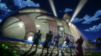 Jojo's Bizarre Adventure Part 3: Stardust Crusaders- The Road to Egypt