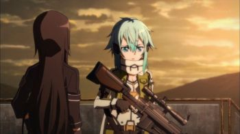 Sword Art Online II Episode 8- I could have sworn I heard Naruto play