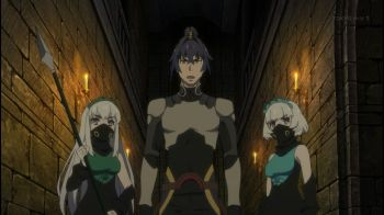 Hitsugi no Chaika: Avenging Battle Episode 8- Three'sCompany
