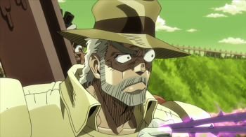 Jojo's Bizarre Adventure Part 3: Stardust Crusaders Episode 31- Brokeback Jojo