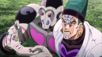 Jojo's Bizarre Adventure Part 3: Stardust Crusaders Episode 40- YOU GOT BOOST POWER