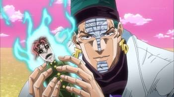 Jojo's Bizarre Adventure Part 3: Stardust Crusaders Episode 41- Mindgames