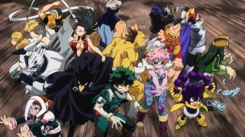 Boku no Hero Academia Episode 53&54- The Not-Chunin Exams
