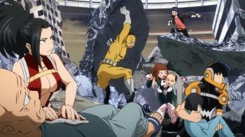 Boku no Hero Academia Episode 57&59- LightspeedRescue
