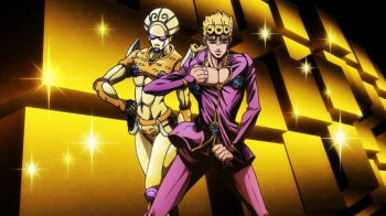 Jojo's Bizarre Adventure- Vento Aureo Episode 2: FIGHTING GOLD