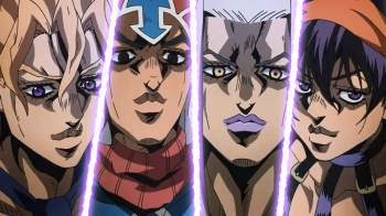 Jojo's Bizarre Adventure- Vento Aureo Episode 5&6: Enter the Gangstars