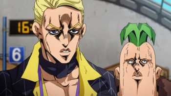 Jojo's Bizarre Adventure- Vento Aureo Episode 14: Double Up